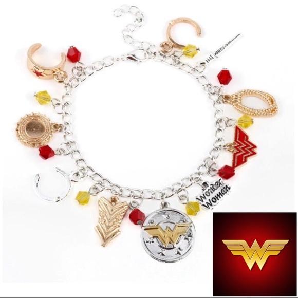 Jewelry - COMING SOON! DC Wonder Woman Charm Bracelet